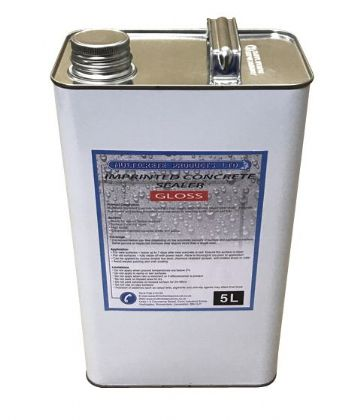 Pattern Imprinted Concrete Sealer - Gloss (5Ltr)